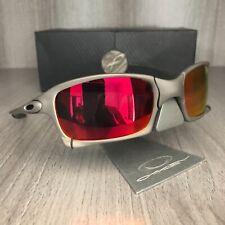 Sunglasses oakley x squared xmetal lenses ruby iridium serial number 6011-03