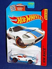 Hot Wheels 2015 Track Aces Ford Shelby GR-1 Concept Kmart KDays White w/ PR5s