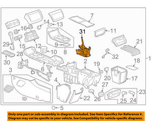 GM OEM Center Console-Shifter Assembly 22842229