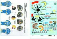 MSM Creation 1/12 V.Rossi Figure 2002-2005 MSMD017 Decal from Japan F/S