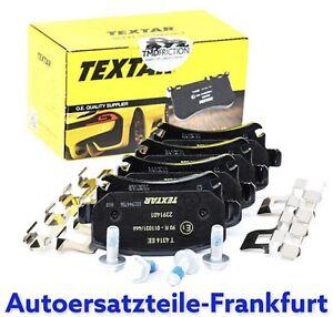 TEXTAR Bremsbeläge HINTEN VW CADDY GOLF 5 / 6 PASSAT TOURAN AUDI A3 A4 A6 SKODA