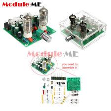 6J1 Valve Pre-amp Tube PreAmplifier Board DIY KIT AC 12V Headphone Buffer+Case