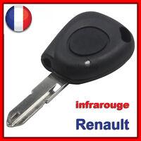 Coque Clé Plip Renault Megane, Scenic, Clio, Twingo, Laguna Avec Infrarouge