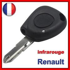 Coque Clé Plip Boitier Renault Megane/Scenic/Clio/Twingo/Laguna Avec Infrarouges