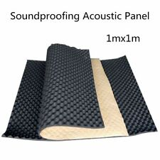 1x1M Fireproofing Sound Proof Acoustic KTV Studio Insulation Foam Panel Shield