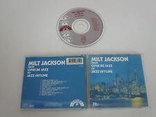 MILT JACKSON / From Opus de Jazz To Jazz Skyline ( Savoy Jazz zd70815) CD Album