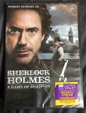 Sherlock Holmes: A Game Of Shadows (2012)  DVD  BRAND NEW And Sealed, Free Shipp