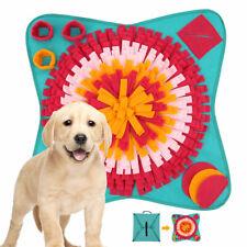 Dog Pet Sniffing Mat Nose Training Snuffle Pad Fun Toy Feeding Cushion Washable