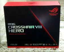 ASUS ROG CROSSHAIR VIII HERO X570 AMD AM4 ATX Motherboard NEW