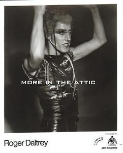 ROGER DALTREY OF THE WHO FAME ORIGINAL MCA RECORDS PROMO PHOTO #1