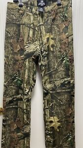 Mossy Oak Break-Up INFINITY Mens 5 Pocket Pants/Jeans Size 34/32 Tree Camouflage