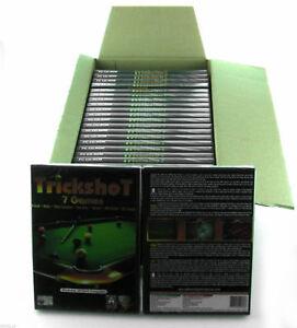 Wholesale Job Lot of 250 x Snooker Trickshot PC CD-ROM Computer Video Games