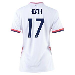 2020 Tobin Heath #17 USA WOMENS White 4 Star Soccer Jersey,Olympics