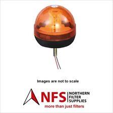 12V/24V SINGLE BOLT LED Lampeggiante Beacon PER TRATTORI, dumper, pianta, carrelli elevatori