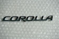 TOYOTA COROLLA WORD EMBLEM 2003 - 2013 TRUNK NAMEPLATE REAR CHROME LOGO BADGE