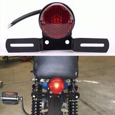 Motorcycle Red Led Running Brake Tail Light For Harley Bobber Chopper Cafe Racer (Fits: Bourget's Bike Works)