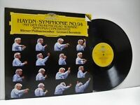 BERNSTEIN haydn Symphony no 94, sinfonia concertante LP EX/VG+, 419 233-1, vinyl