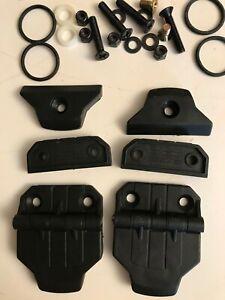 Kawasaki Mule Pro, Curtis Cab Windshield Hinge Kit w/Short Spacer, P/N 9SV-HWSS
