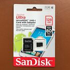 NEW Sandisk 128GB Ultra Micro SD SDXC Card 80MB/s Class 10 Camera Phone Tablets