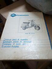 CATALOGO PARTI DI RICAMBIO ORIGINALE PIAGGIO VESPA PK 125 XL + VESPA HP 125