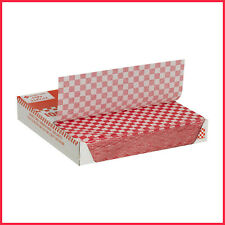 [No Tax] Member's Mark Red Checked Basket Liner Sheets (1,000 ct.)