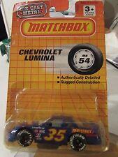 Matchbox Chevrolet Lumina Blue from 1990