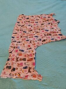Cat Scrap Fabric Carolyn Gavin patter #42080 100% gots certified organic cotton