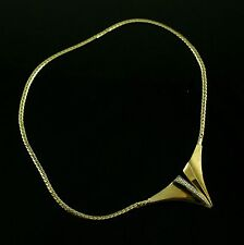 Ole Lynggaard 14k Gold Necklace with Diamonds 0.15ct