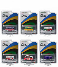 RIO SET OF 6 VOLKSWAGEN LTD 3000 1/64 GREENLIGHT 51037