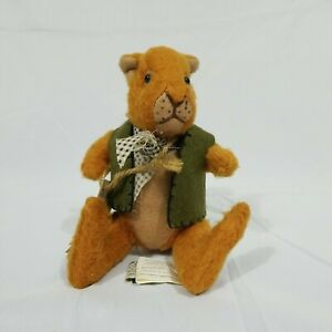 """The Cottage Collectibles Vintage """"Nutcracker"""" Squirrel 1998 - New With Tags"""