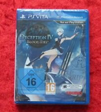 Deception IV 4 Blood Ties, Sony PSVita Spiel PlayStation Vita Neu deutsche Vers.