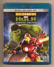 Marvel Comics Iron Man Hulk Heroes United  DVD  Zzzax