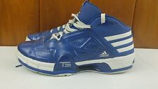 Adidas High Top Basketball Sneakers Men's 12 Team Signature Blue