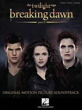 Twilight Breaking Dawn Part 2 Play Edward Bella Piano Vocal Guitar Music Book