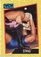 1991 WCW/WWE Impel #6 Sting near mint