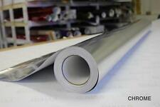 Silver Chrome Vinyl 5ft x 45ft Bubble-Free Wrap for Car Bike Boat Trailer
