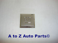"""NEW Chevy,etc Fender or Door """"Mark of Excellence"""" Stainless GM Emblem, OEM GM"""