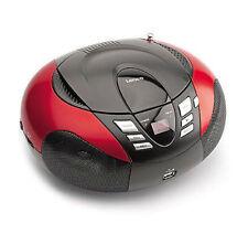 Schwarze Markenlose tragbare Stereoanlagen mit Radio