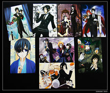 Kuroshitsuji Black Butler Lot de 8 Cartes Postal I 黒執事