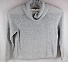 TORRID NWT Cowl Neck Sweater Long Sleeve Gray Size 2