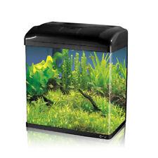 18L Aquarium Fish GlassTank Fresh Water LED Light Filter Black HX320F