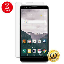 [2-PACK] LG Stylo 2 Plus Ultra-Clear Premium Tempered Glass Screen Protector
