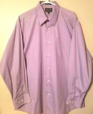 Alexander Julian Colours Mens Shirt Size XL Long Sleeve Button Front Purple