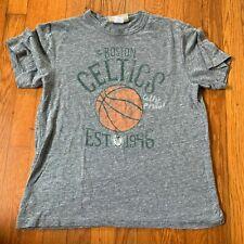 GAP Kids Junk Food Gray Short Sleeve Tshirt Boston Celtics Childrens XXL