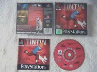 55411 Tintin Destination Adventure - Sony PS1 Playstation 1 (2001) SLES 03459