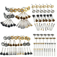 32Pcs/Set Brass Steel Wire Brush Polishing Wheels Full Kit for Rotary Tools New&