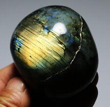 202g Natural Labradorite Crystal Rough Polished rock From Madagascar K717