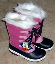 GIRLS SIZE 2 PINK INSULATED -25 Degrees WINTER SNOW PAC BOOTS - BRAND NEW!