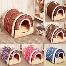 Abnehmbar Haustier Bett Hundebett Höhle Katze Nest Hund Zwinger Haus Hundehütte