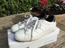 Lonsdale White Leather Size 6 Trainer